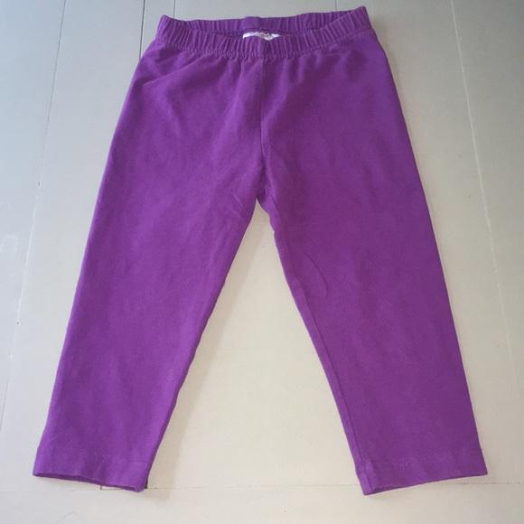 e8cbb004d41ac Hanna Andersson Bottoms | Purple Capri Leggings | Poshmark